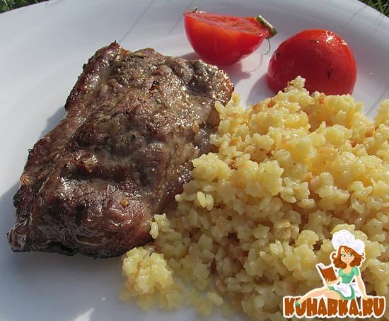Рецепт Полезная свинина с имбирем в Fitness гриле