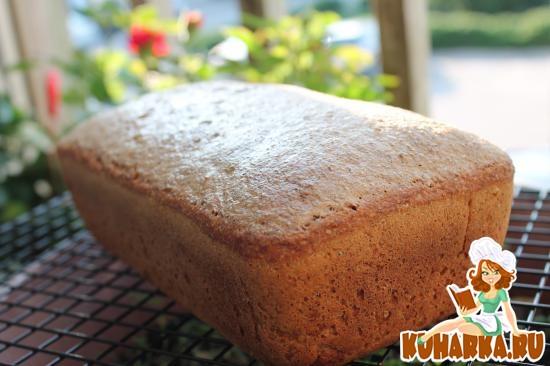 Рецепт Дарницкий хлеб на закваске (без дрожжей)