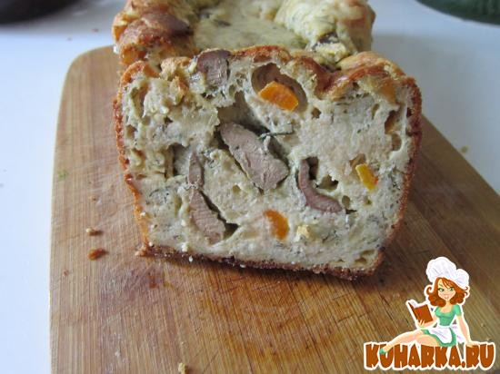 Рецепт Быстрый пирог с печенью
