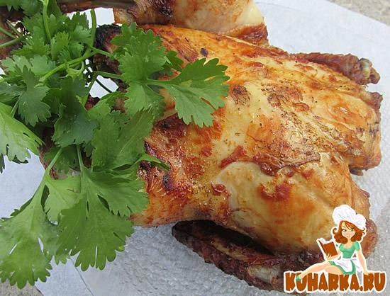 Рецепт Курица в пикантном соусе в Fitness гриле