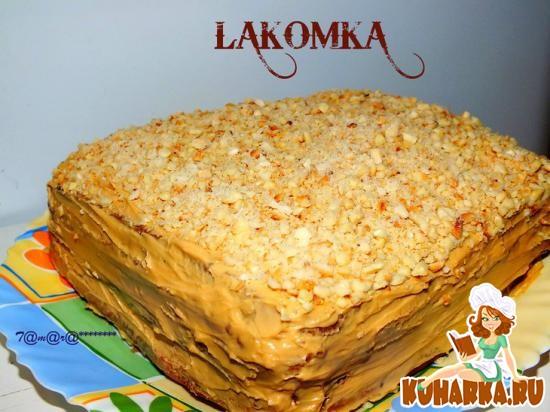 "Рецепт Торт ""Лакомка"""