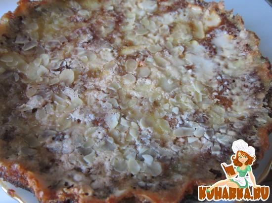 """Рецепт Пирог с яблоками """"Невидимый"""""""
