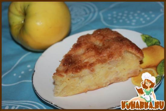 Рецепт Яблочно-лимонный пирог