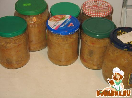 Рецепт Солянка из свежей капусты с грибами