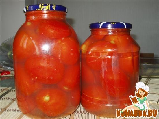 Рецепт Пряные помидоры