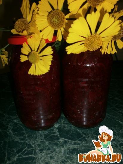 Рецепт Свекольный салат на зиму