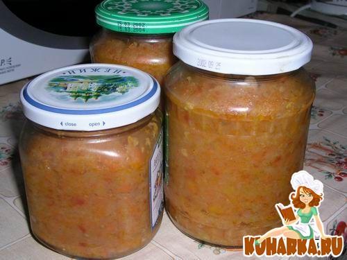 Рецепт Кабачковая икра - два варианта
