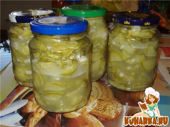Рецепт Кабачки в остром соусе