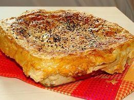 Рецепт Курица с грибами под соусом бешамель запеченная в тесте