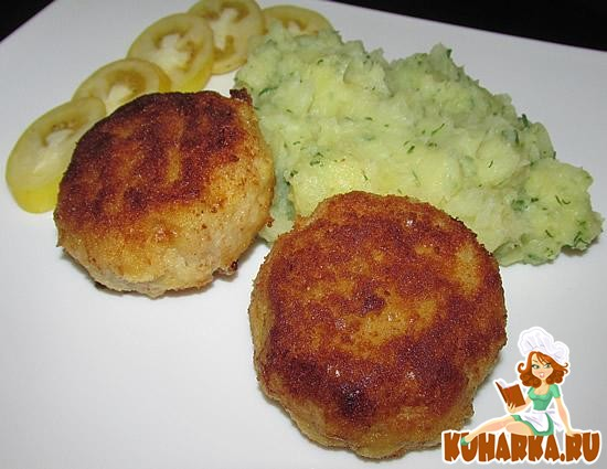 Рецепт Тельное (рыбные зразы с яйцом и луком)