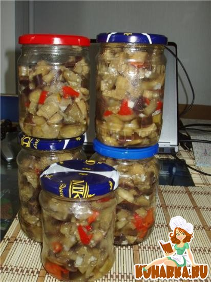 Рецепт Баклажаны под грибочки