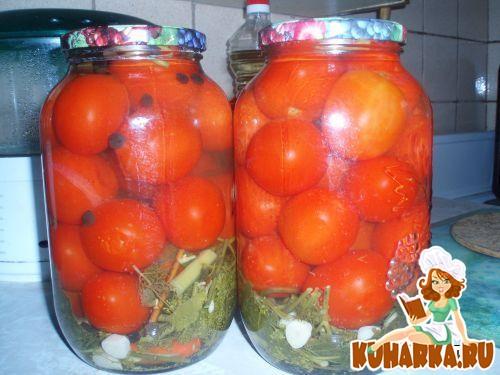 Рецепт Заливные помидоры