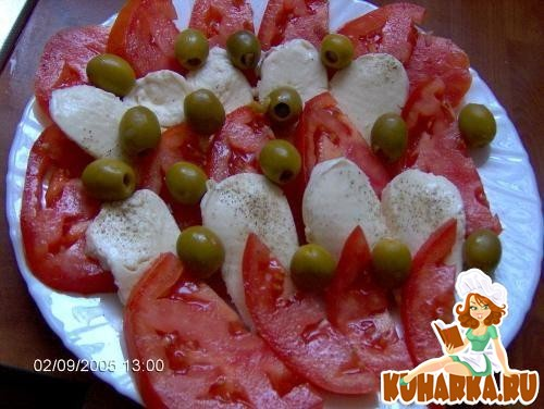 Рецепт Простенький салатик