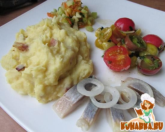 Рецепт Картофельное пюре с беконом