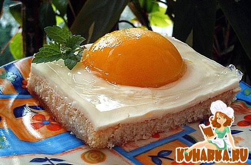 "Рецепт Торт ""Яичница"" (SPIEGELEIER)"