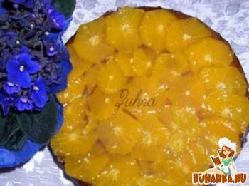 Рецепт Кофейно-мандариновый торт
