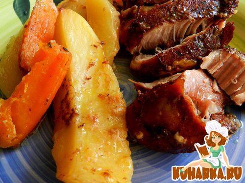 Рецепт Индейка с картошками