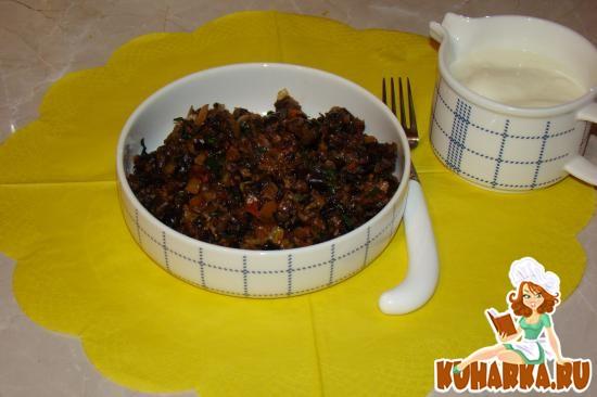 Рецепт Жареные баклажаны с мясом