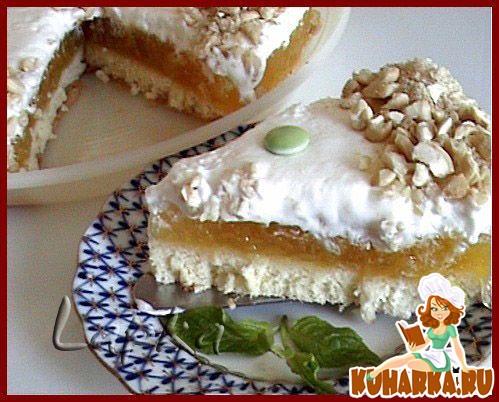 Рецепт Мармеладно- яблочный торт