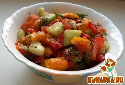 Рецепт Овощная сальса