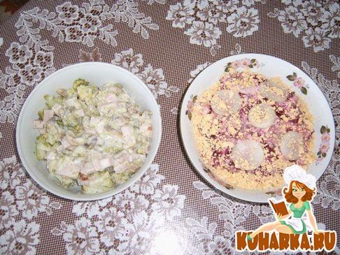 Рецепт Салат из сельди иваси