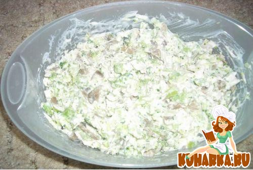 Рецепт Салат из капусты брокколи