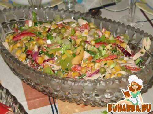 """Рецепт Салат """"Красивый"""""""