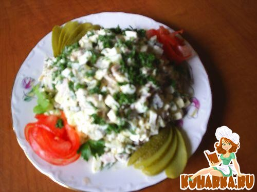 Рецепт Салат из буженины