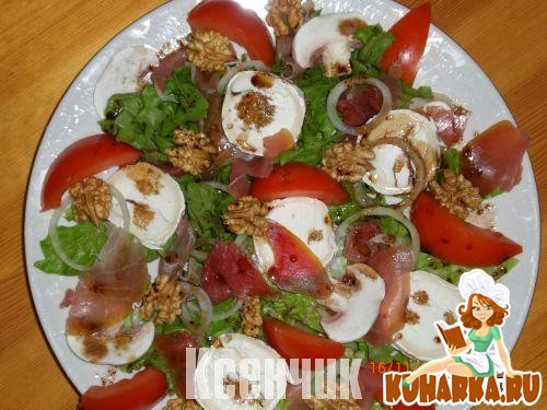 Рецепт Летний салатик (salade composee du soleil)