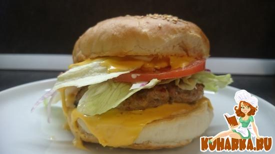 "Рецепт Гамбургер ""Не Макдоналдс"""