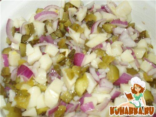 Рецепт Картофельный салатик
