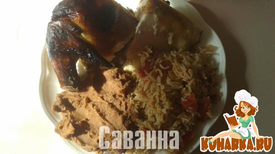 Рецепт Жаренный цыпленок (Pollo asado)