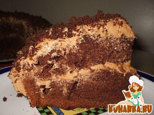 """Рецепт Торт """"Шоколадное наслаждение"""""""