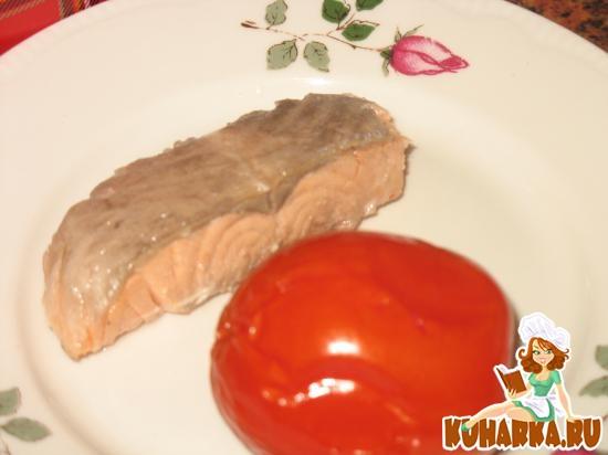 Рецепт Рыба, тушенная в маринаде от помидоров