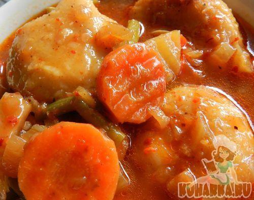 Рецепт Красный суп с кубэ