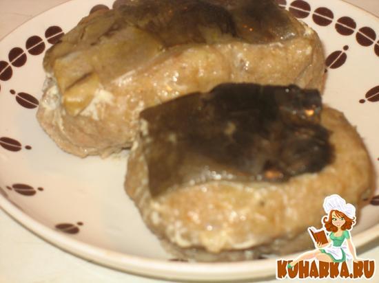 Рецепт «Рыба фаршированная» - тушеные кнели из рыбного фарша с манкой и кожей карпа