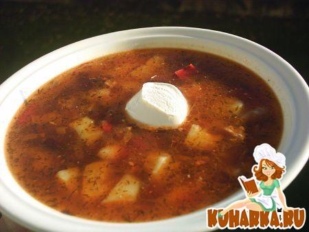 Рецепт Густой фасолевый суп