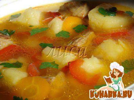 Рецепт Быстрый и вкусный суп