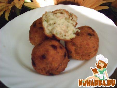 Рецепт Картофельно-рыбные крокеты