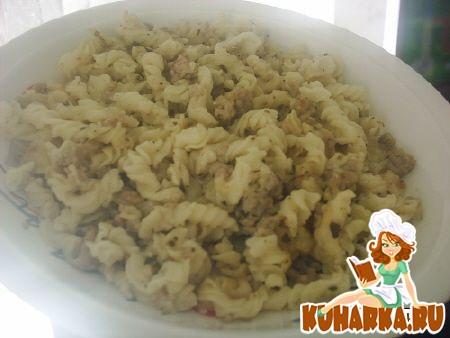 Рецепт Запеканка из макарон с фаршем