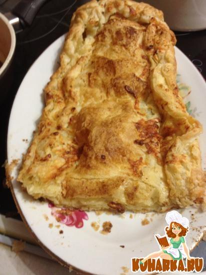 Рецепт Слоеный хлеб с сыром