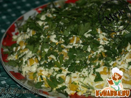 Рецепт Нежный шпротный салат
