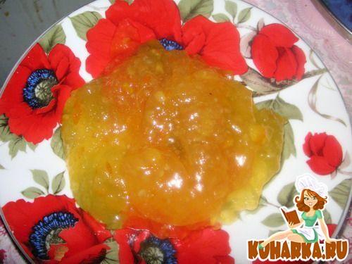 Рецепт Тыквенно-апельсиновый джем