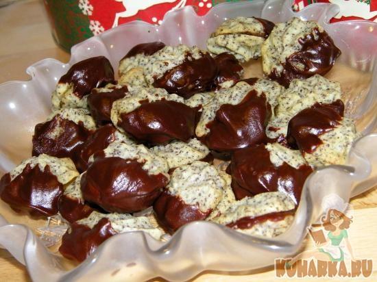 Рецепт Маковое печенье (Gefuellte Mohnplaetzchen)