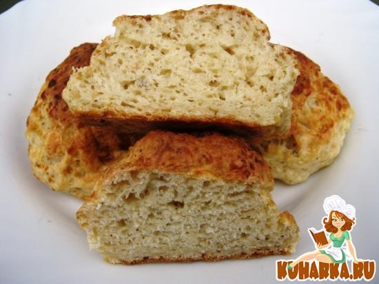 Рецепт Буикос - сырные булочки с чесноком