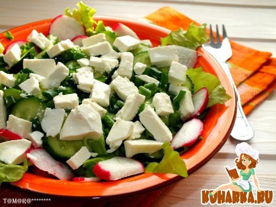 Рецепт Витаминный овощной салат