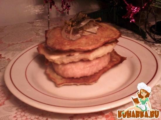 Рецепт Бутерброды картофельные с котлеткой