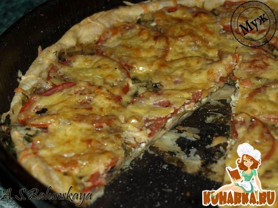 Рецепт Пицца по-французски