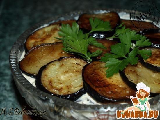 Рецепт Острая закуска из баклажанов и орехов