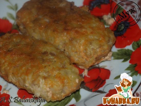 Рецепт Ленивые голубцы в сметанно-томатном соусе